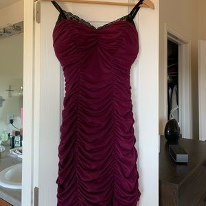 Guess Rushed and Lace cocktail dress